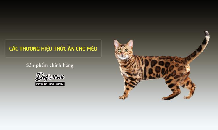 Thức ăn mèo theo thương hiệu