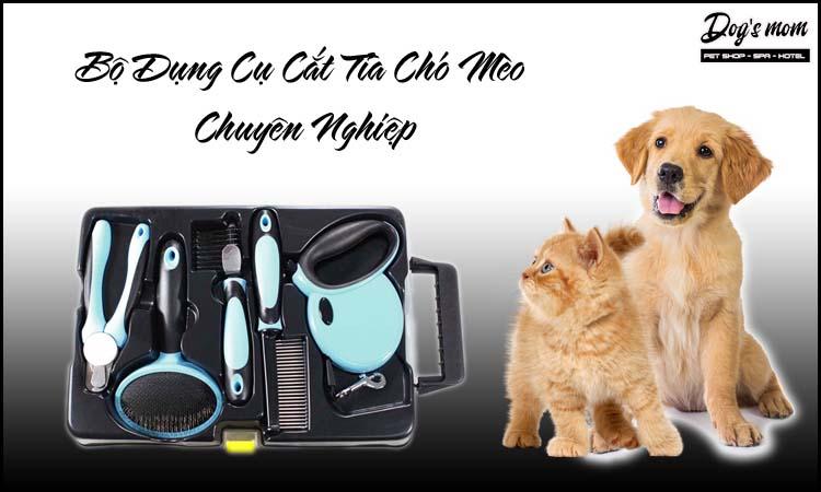 Bộ dụng cụ cắt tỉa chó mèo chuyên nghiệp