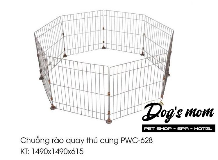 Chuồng Rào Quay Thú Cưng PWC-628