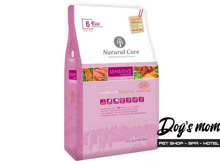 Thức ăn Natural Core vị Cá Hồi cho Chó Nhạy Cảm 1kg