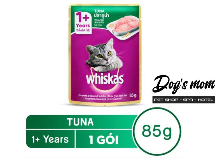 Pate gói Whiskas vị Cá Ngừ