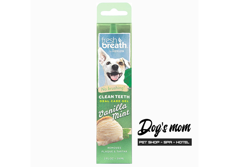 Gel Trị Mảng Bám Tropiclean Vanilla Mint 59ml