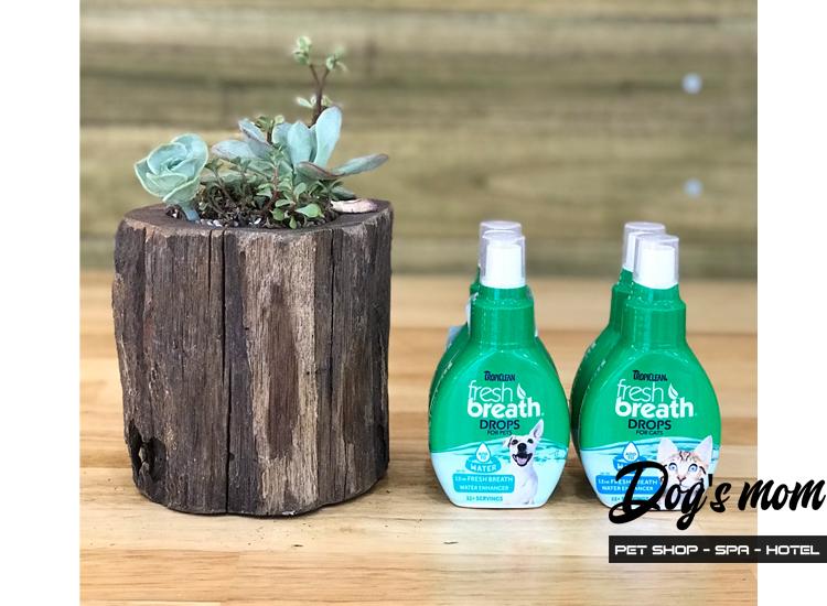 Nước Đặc Trị Hôi Miệng Tropiclean FreshBreath Drops For Cat 65ml