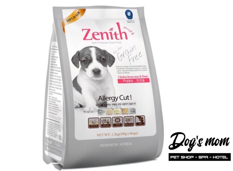 Thức ăn hạt mềm Zenith Puppy vị Gà 1,2kg