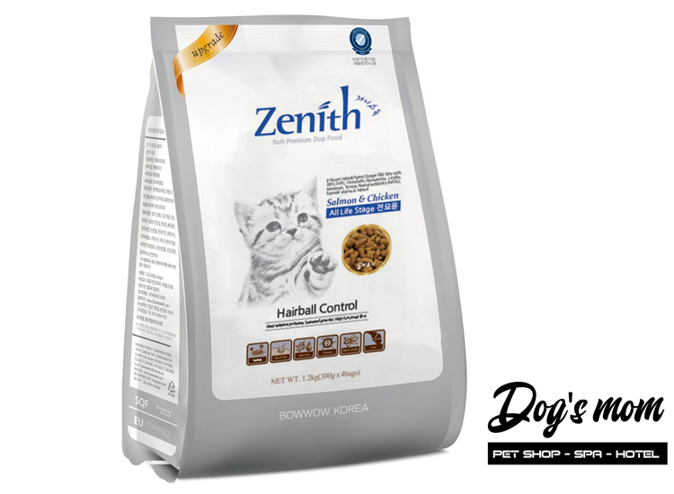 Thức ăn hạt mềm Zenith Cat Hairball 1,2kg