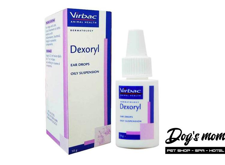 Thuốc nhỏ trị Viêm Tai Virbac Dexoryl cho Chó Mèo 10g
