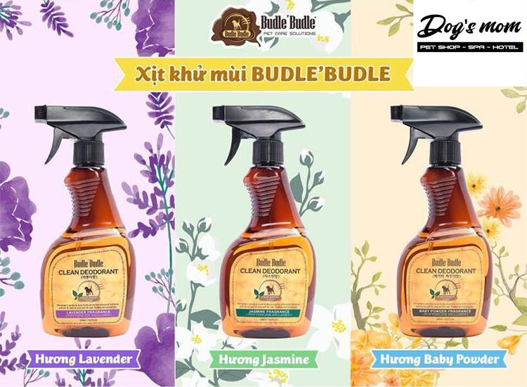 Xịt Khử Mùi Môi Trường Budle Clean Deodorant 530ml
