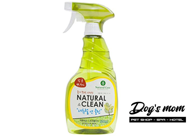 Xịt Khử Mùi Môi Trường Natural Clean Cho Chó Mèo 500ml