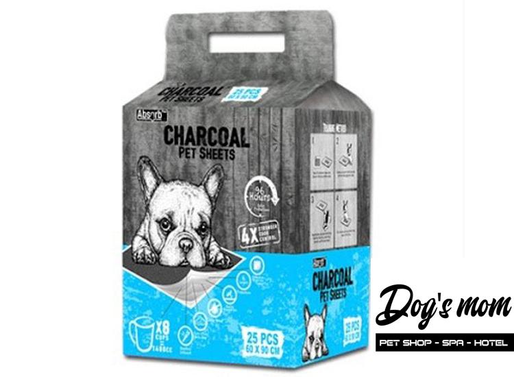 Tả Lót Than hoạt tính Absorb Plus Charcoal cho Chó Mèo 25m 60x90cm