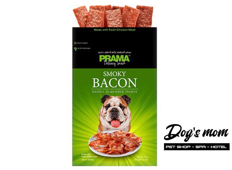 Bánh Thưởng vị Heo Prama Bacon 70g
