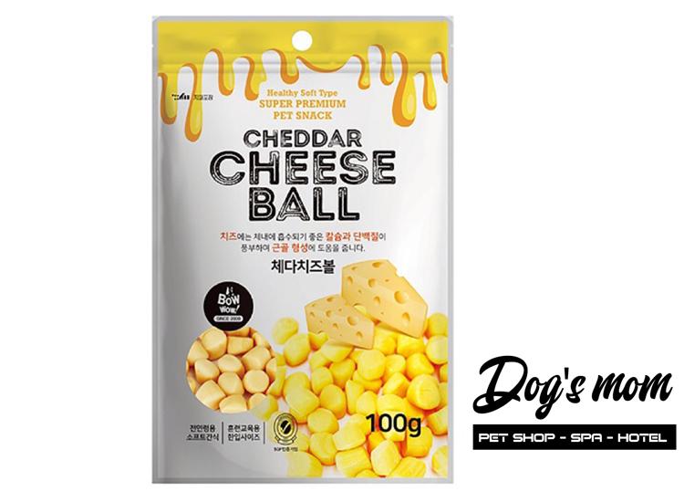 Bow Wow Cheese Ball vị Phô Mai 100g