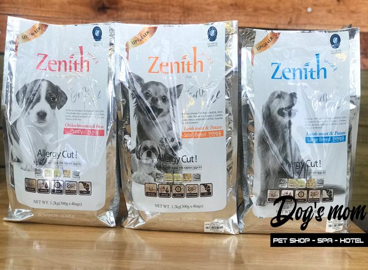 Thức ăn hạt mềm Zenith Small Breed vị Cừu 1,2kg