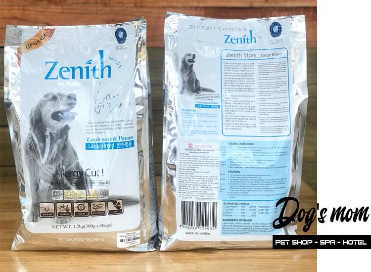 Thức ăn hạt mềm Zenith Large Breed Vị Cừu 1,2kg