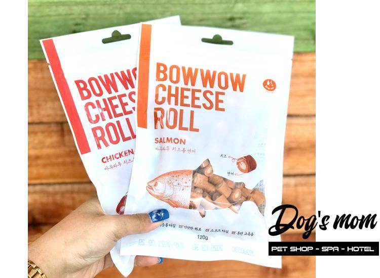 Bow Wow Cheese Roll Salmon vị Cá Phô Mai 120g