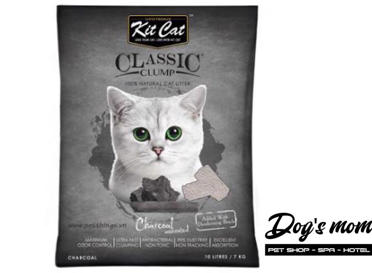 Cát Đất Sét Kitcat Classic Clump 10lít - Than Hoạt Tính