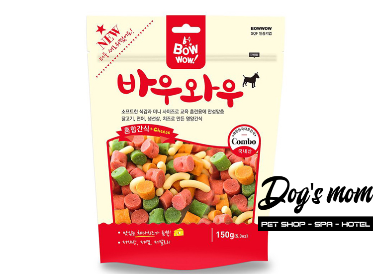 Bow Wow Snack Hỗn Hợp 40g