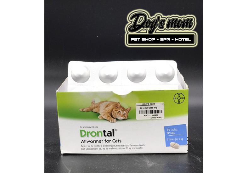 Viên Nhai xổ giun Drontal cho Mèo