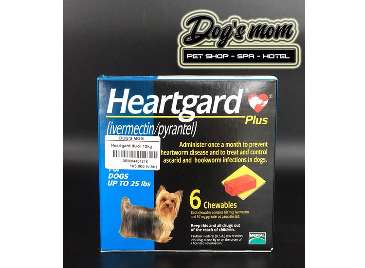 Viên Nhai Tẩy Giun Tim HEARTGARD® PLUS > 11,5kg
